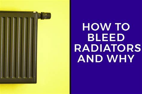 bleed radiators   heatandplumbcom