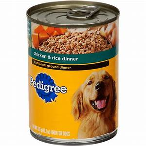 Pedigree Traditional Ground Dinner with Chicken & Rice ...