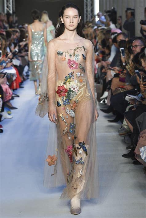 Spring 2018 Runway Fashion Trend - Sheer - Fashionsizzle