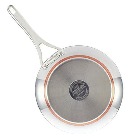 anolon nouvelle stainless steel cookware pots  pans set  piece artisan sw home