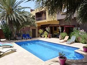 l39 heure bleue aourir location de vacances maison With location de villa a agadir avec piscine
