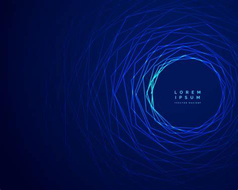 technologie tunnel bleu lignes fond design t 233 l 233 charger des vecteurs gratuitement