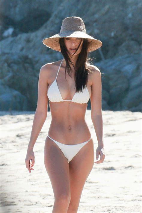 Emily Ratajkowski Hot in White Bikini - Paradise Cove in ...