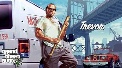 Theft Grand Characters Games Rockstar Wallpapers