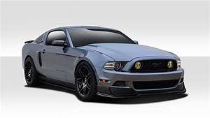 13-14 Ford Mustang R500 Duraflex 7 Pcs Full Body Kit!!! 109613   eBay