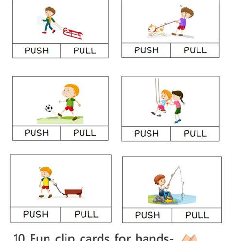 Every successful business relies heavily on efficient supply chain management to run its everyday operations. What Does Push And Pull Things - FREE Push and Pull Clip Card Printables for learning about ...