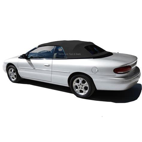 2000 Chrysler Sebring Convertible Parts by 1996 2000 Chrysler Sebring Convertible Tops Black