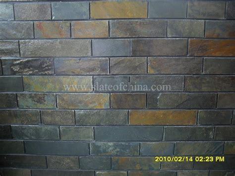 slate facade for interior and exterior decoration
