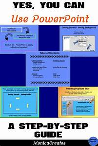 How To Use And Create In Powerpoint  Step