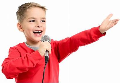 Kid Transparent Radio Singing Success Sing Boy