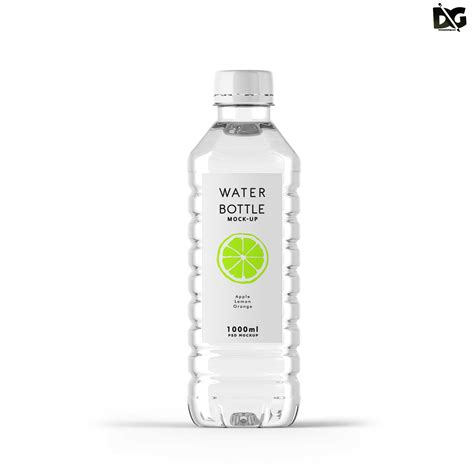 The biggest source of free photorealistic bottle mockups online! Free Download Water Bottle Plastic PSD Mockup   Free PSD ...