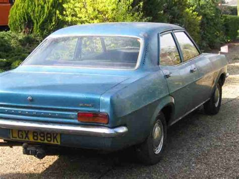 1972 vauxhall victor vauxhall victor fd 1600 1972 car for sale