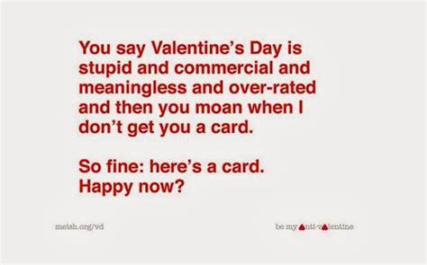 Funny Anti Valentines Day Quotes Quotesgram