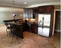 basement kitchen ideas Basement Kitchen Bar   Houzz