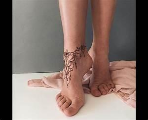 15 must-see Ankle Foot Tattoo Pins | Henna tattoo foot ...
