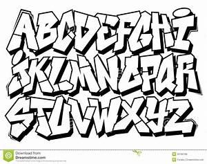 Cool Graffiti Lettering Styles Alphabet - Graffiti Art