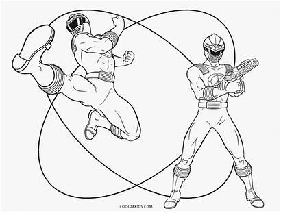 Ranger Coloring Power Pages Printable