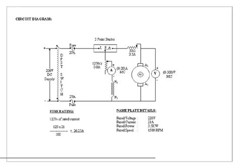 what are all the tests conducted on dc generator and dc motor and specify the aim of each