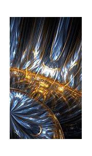 fractal, Apophysis, Digital Art, 3D, Gold, Waves, Abstract ...