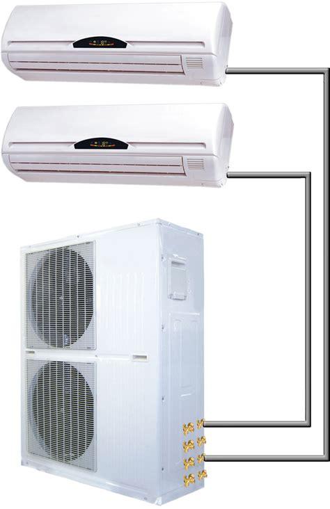 dual zone split mini air conditioner