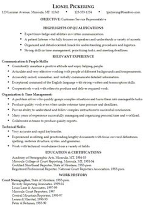 Verbs For Resumes Customer Service by Trudel Psychologue Resume Verbs For Customer