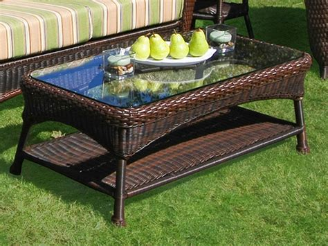 rattan patio coffee table target outdoor coffee table