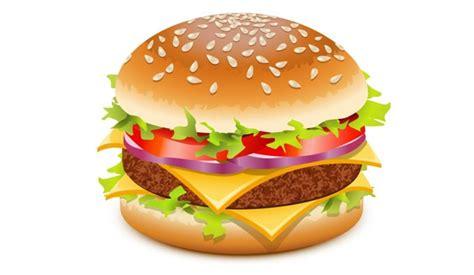 detailed burger vector vectorish