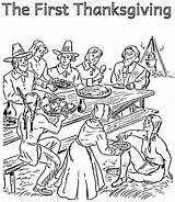 Coloring Thanksgiving Pilgrim Pages Indian Pilgrims Printable Getcolorings Sheets Library Clipart Template Popular sketch template
