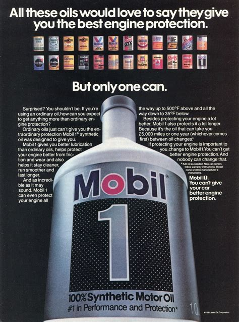 mobil plastic mobil 1 comparison to synlube