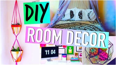 diy room decorations tumblr inspired youtube