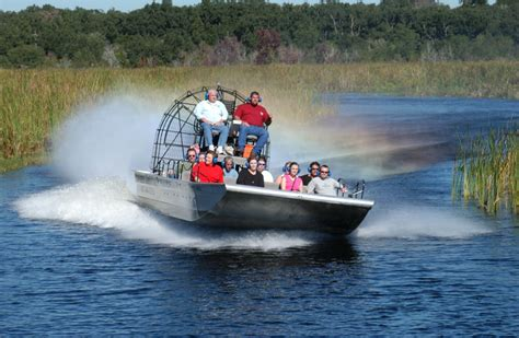 fan boat new orleans boggy creek airboat rides what s that all about