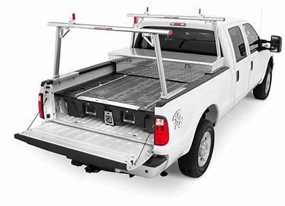 Truck Decked Bed System Storage Ladder Pickup