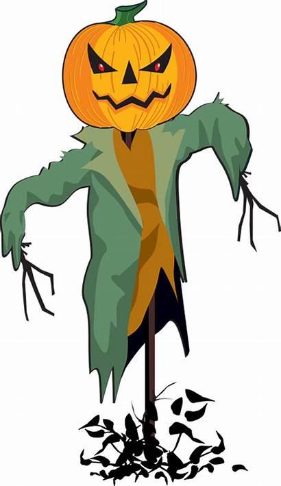 Scarecrow Clip Clipart Halloween Clipartix Scary Happy
