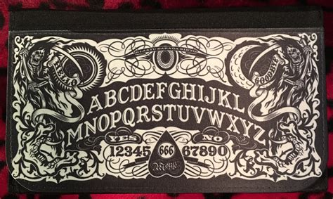 ouija board wallet scream