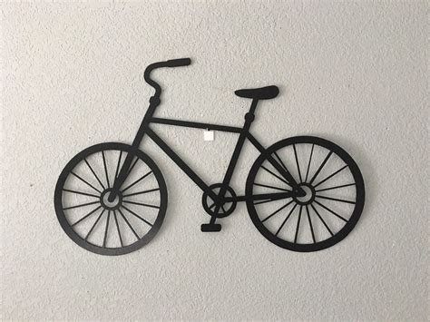 These 13 modern wall mounted bike racks are perfect for storing your bike and helmet in a neat and organized way. 15 Collection of Metal Bicycle Wall Art