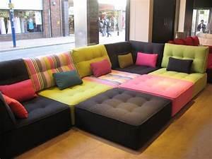 Idee de canape modulable en divers coloris pour decoration for Canapé modulable