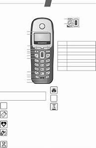 Manual Siemens Gigaset A26  8 Sider