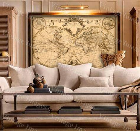 world mapworld map wall art historic map