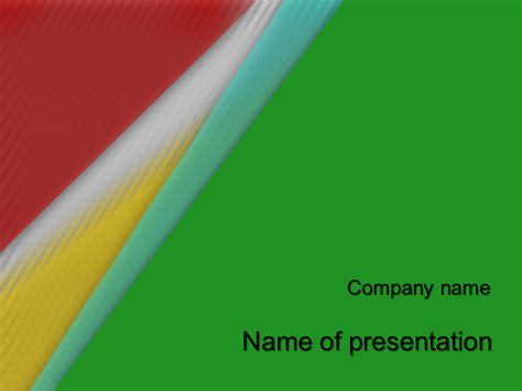 african colors powerpoint template
