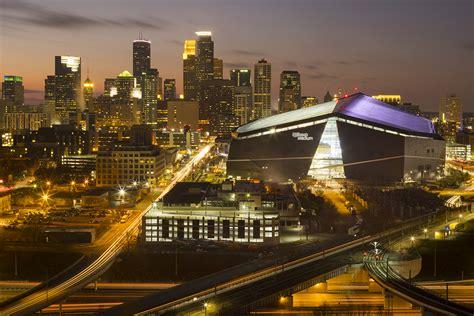 bank stadium hosts super bowl lii architect