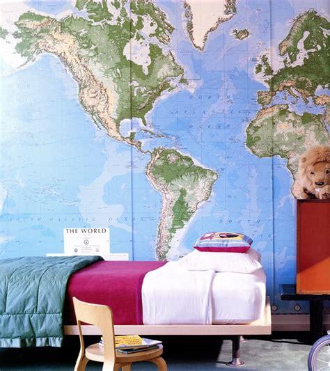 ideas    put kids bedroom   map