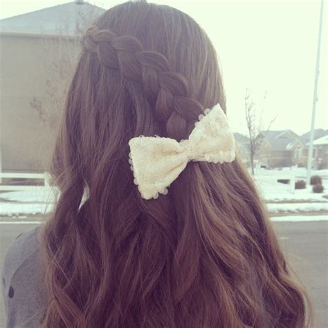 pancake lace braid easy hairstyles cute girls hairstyles