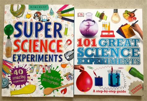 great science experiments  book tree