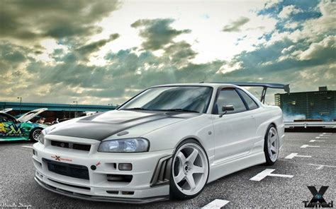 nissan skyline drift wallpaper nissan skyline gtr r34 wallpapers wallpaper cave