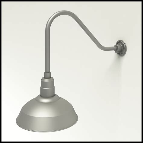 commercial light fixture warehouse shade gooseneck lighting