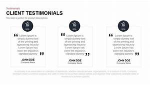 Client Testimonials Powerpoint and Keynote Template ...