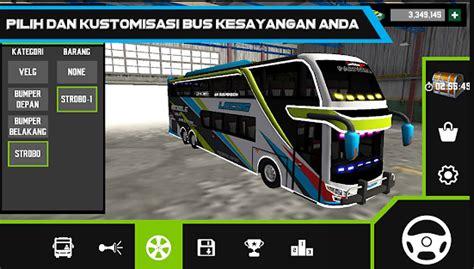 mobile bus simulator mod apk terbaru
