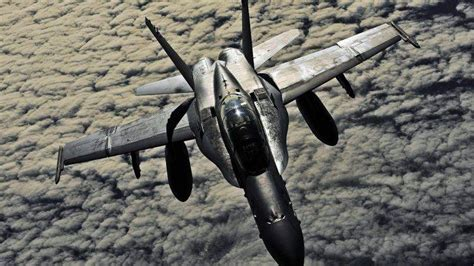Military, War, Airplane, Fa 18 Hornet, Clouds, Aircraft