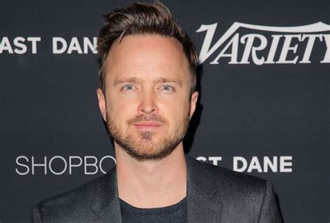 aaron paul ozark nbc orders blackmail thriller script produced by aaron