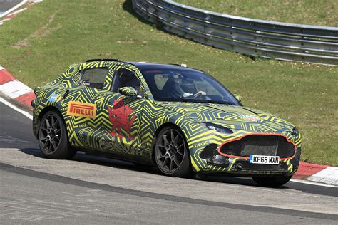 2020 Aston Martin Dbx by New 2020 Aston Martin Dbx Suv Snapped At The Nurburgring